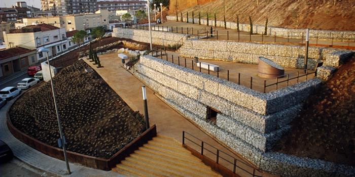 Urbanización taludes cementerio, Mataró