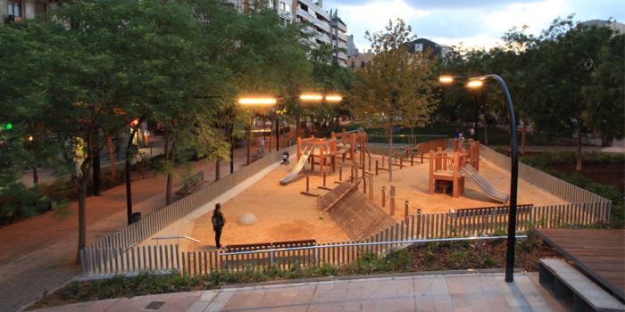 Reurbanización Plaza Lesseps